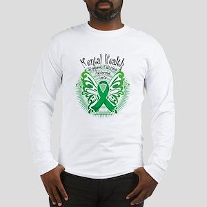 Mental Health Butterfly 3 Long Sleeve T-Shirt