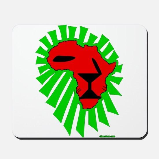 Lion El Mousepad