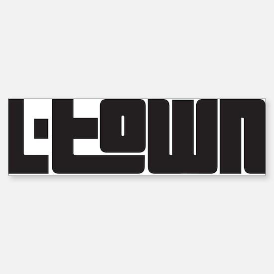 L-TOWN Sticker (Bumper)