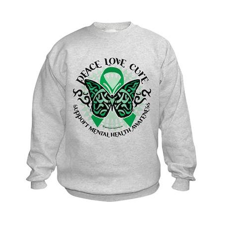 Mental Health PLC Kids Sweatshirt