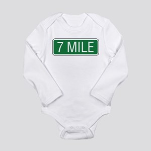 7 Mile Long Sleeve Infant Bodysuit