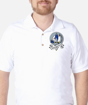 Montgomery Clan Badge Golf Shirt