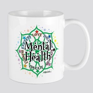 Mental Health Lotus Mug
