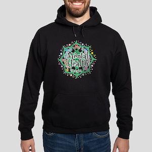 Mental Health Lotus Hoodie (dark)