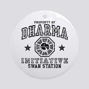 Dharma Swan Ornament (Round)
