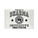 Dharma Swan Rectangle Magnet