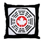 Dharma Eh Throw Pillow
