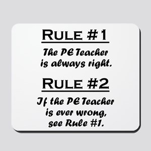 PE Teacher Mousepad