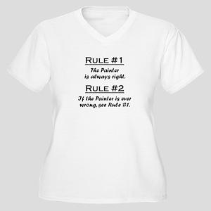 Painter Women's Plus Size V-Neck T-Shirt