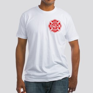 Fire Department - Fitted T-Shirt