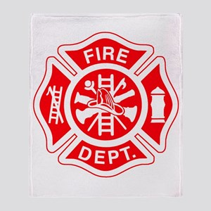 Fire Department - Throw Blanket