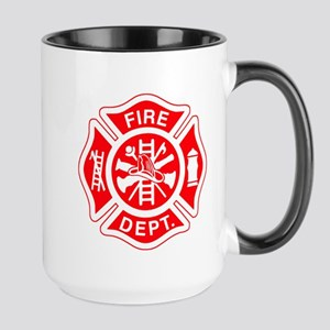 Fire Department - Large Mug