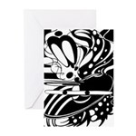 Abstract Greeting Cards (Pk of 10)