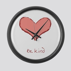 Be Kind Large Wall Clock