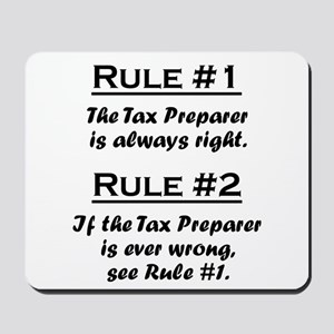 Tax Preparer Mousepad