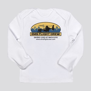 EMS Flight Crew - BGB Long Sleeve Infant T-Shirt