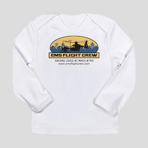 EMS Flight Crew - BGB Long Sleeve Infant T-Shirt