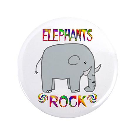 "Elephant 3.5"" Button"