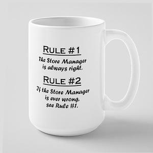 Store Manager Large Mug