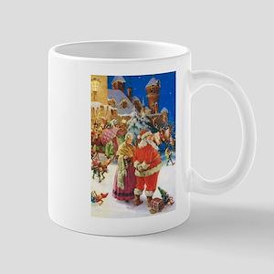Santa Claus at the North Pole Mug