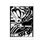Abstract Mini Poster Print
