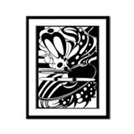 Abstract Framed Panel Print