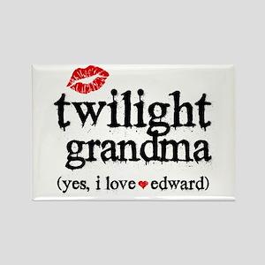 Twilight Grandma Rectangle Magnet