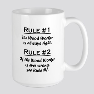 Wood Worker Large Mug