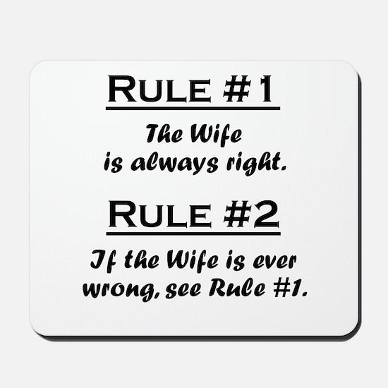 Wife Mousepad