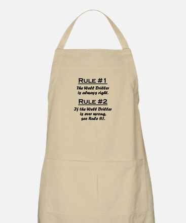 Well Driller Apron