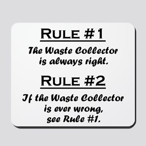 Waste Collector Mousepad