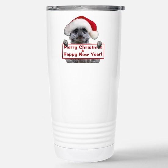 Helaine's Christmas Mee Stainless Steel Travel Mug