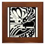 Abstract Framed Tile