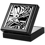 Abstract Keepsake Box