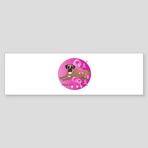 Boxer Sticker (Bumper)