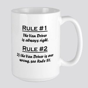Van Driver Large Mug