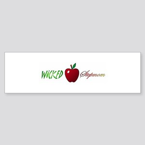 Wicked Stepmom Bumper Sticker