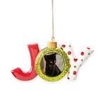 Little Black Kitten Joy Ornament