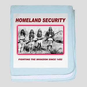 Homeland Security Native baby blanket