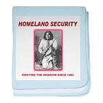 Homeland Security Geronimo baby blanket