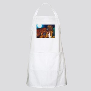 Boxer Night BBQ Apron