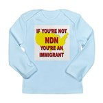 Immigration Long Sleeve Infant T-Shirt