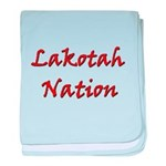 Lakotah Nation baby blanket