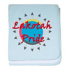 Lakotah Pride Sunburst baby blanket