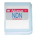 Arkansas NDN baby blanket