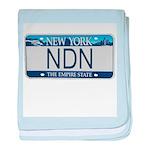 New York NDN baby blanket