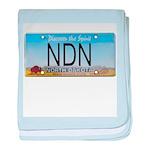 North Dakota NDN Pride baby blanket