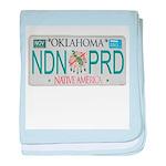 Oklahoma NDN Pride baby blanket