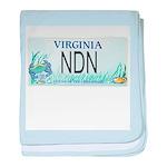 Virginia NDN Pride baby blanket