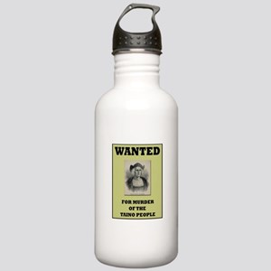 Columbus a Murderer Stainless Water Bottle 1.0L